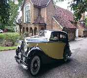 1950 Rolls Royce Silver Wraith in Exeter