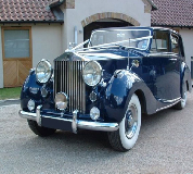 Blue Baron - Rolls Royce Silver Wraith Hire in Exeter