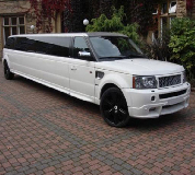 Range Rover Limo in Exeter