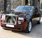 Rolls Royce Phantom - Royal Burgundy Hire in Exeter