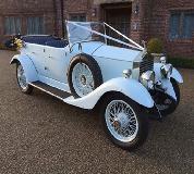 1927 Vintage Soft Top Rolls Royce in Exeter